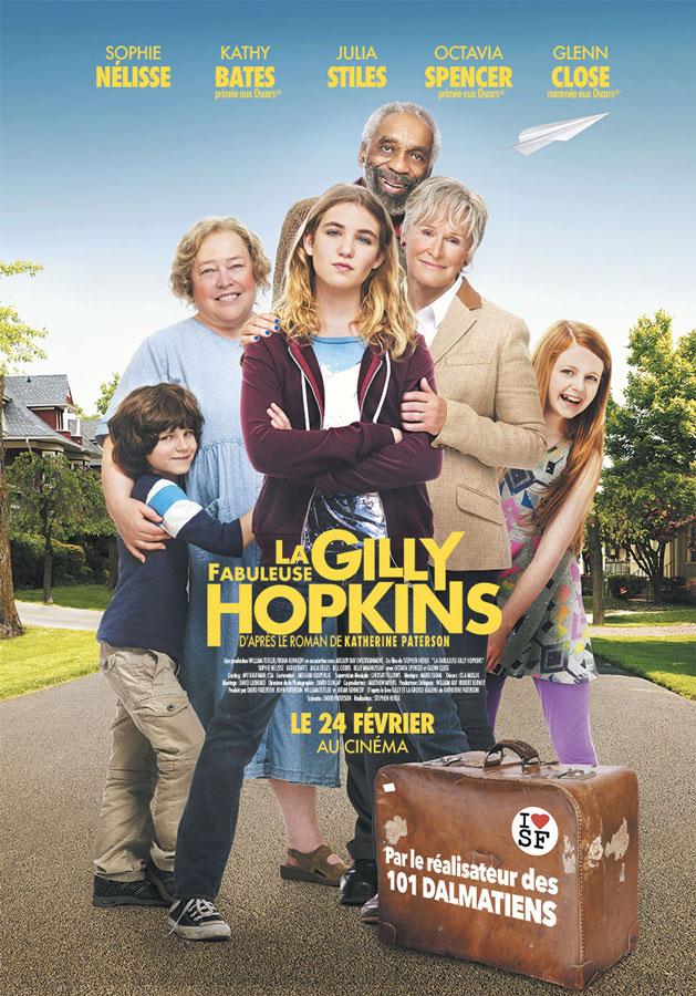 La Fabuleuse Gilly Hopkins (The Great Gilly Hopkins) de Stephen Herek (2016)