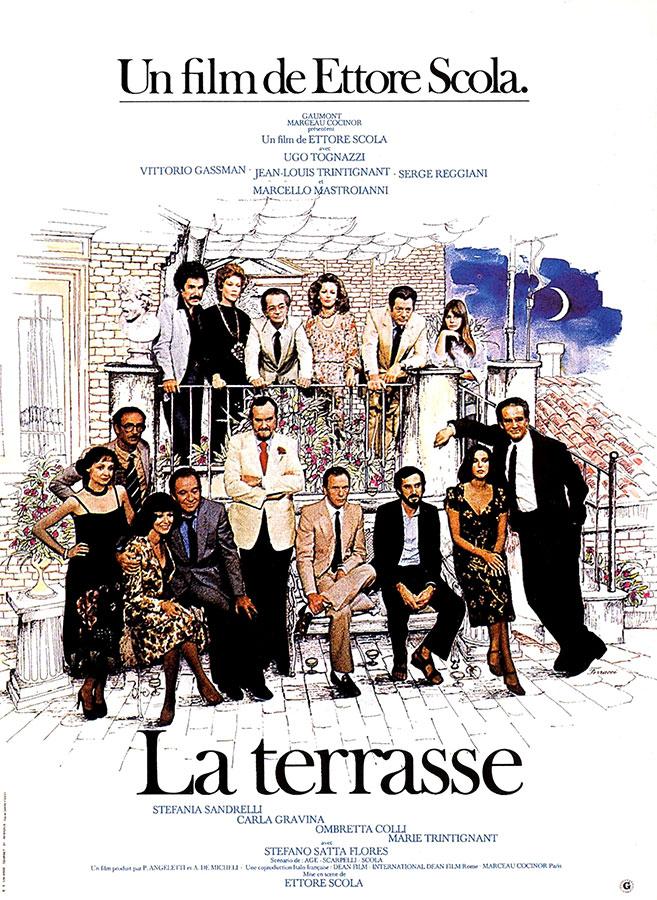 La Terrasse (Ettore Scola, 1980)