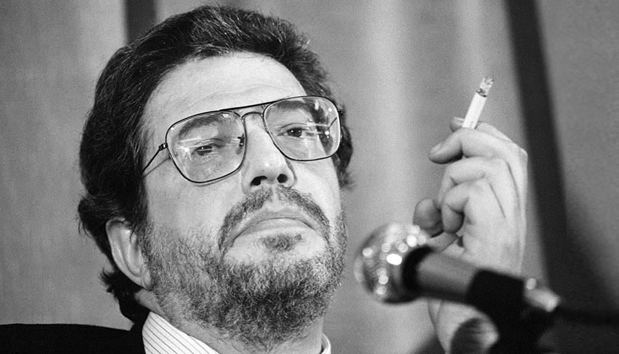 Ettore Scola en 1982 au Festival de Cannes pour La nuit de Varennes © RALPH GATTI/AFP