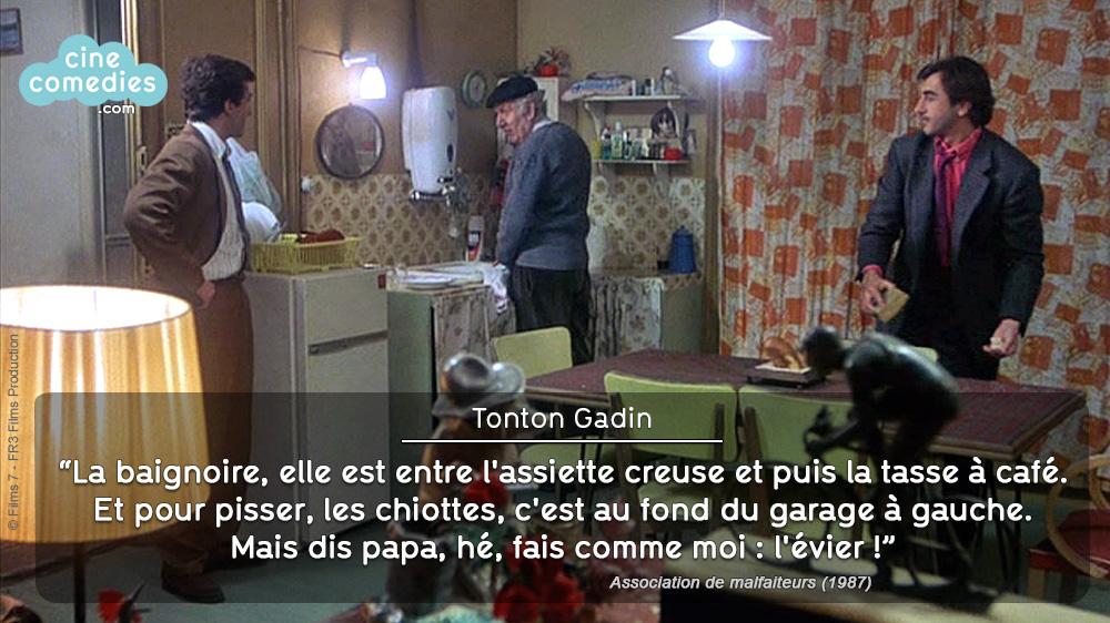 Association de malfaiteurs (Claude Zidi, 1987) - réplique 1