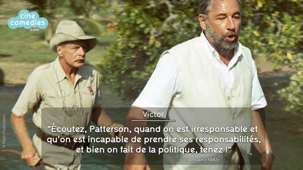 L'Africain (Philippe de Broca, 1983) - réplique 1