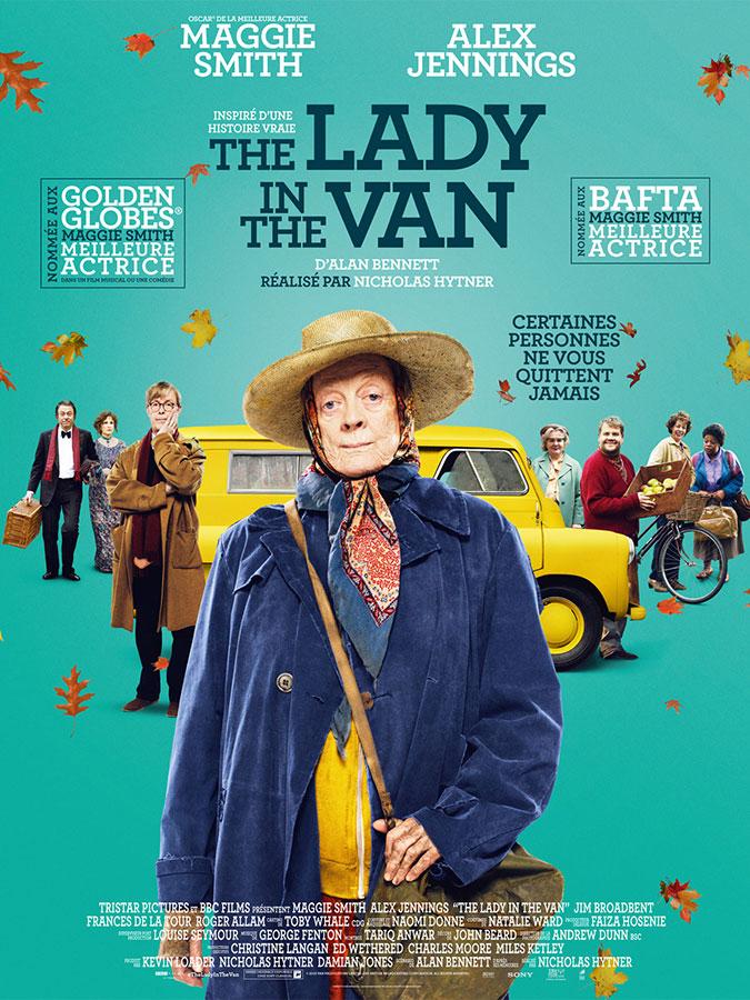 The Lady in the Van (Nicholas Hytner, 2015)