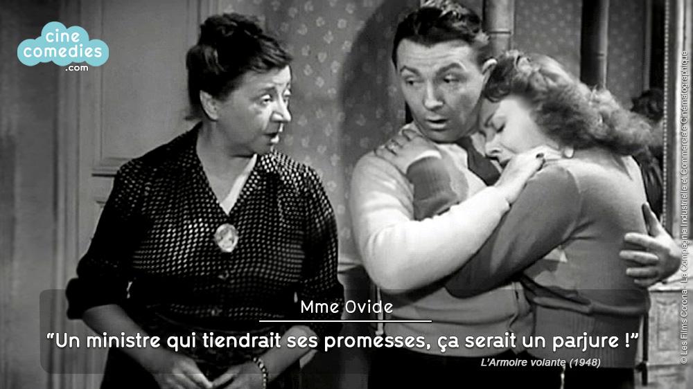 L'Armoire volante (Carlo Rim, 1948) - réplique 1