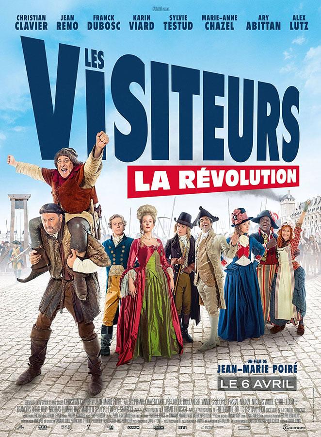 Les Visiteurs - La Révolution (Jean-Marie Poiré, 2016)