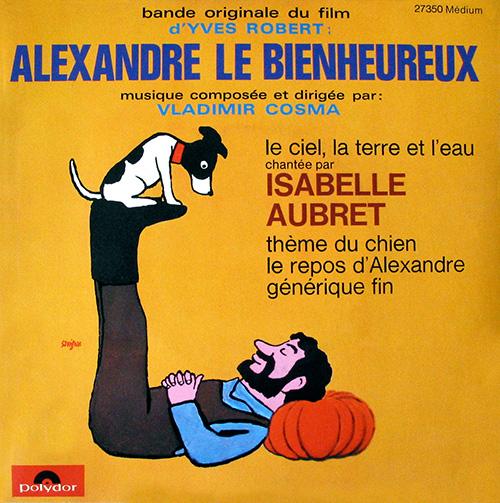 Bande originale du film Alexandre le bienheureux (Yves Robert, 1968)