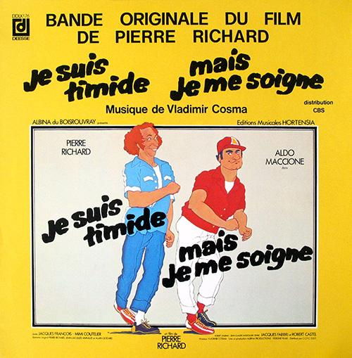 Bande originale du film Je suis timide mais je me soigne (Pierre Richard, 1978)