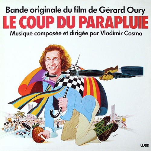 Bande originale du film Le Coup du parapluie (Gérard Oury, 1980)