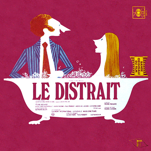Bande originale du film Le Distrait (Pierre Richard, 1970)
