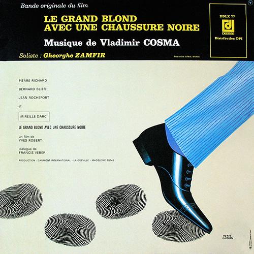 Bande originale du film Le Grand Blond avec une chaussure noire (Yves Robert, 1972)