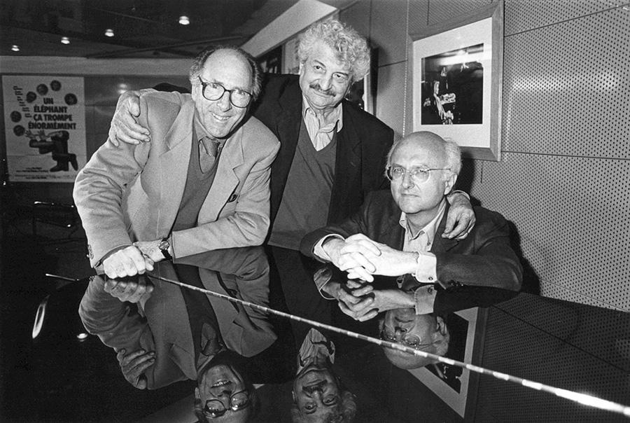 Claude Pinoteau, Yves Robert et Vladimir Cosma (© collection privée V. Cosma)
