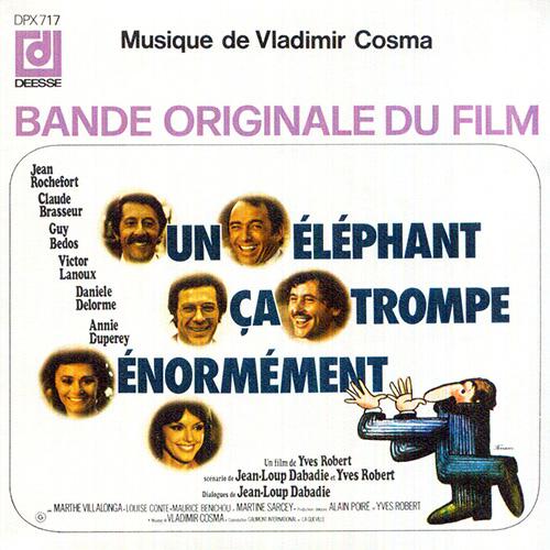 Bande originale du film Un éléphant ça trompe énormément (Yves Robert, 1976)