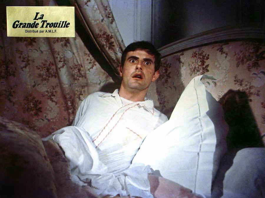 Bernard Menez dans La Grande trouille (Tendre Dracula) de Pierre Grunstein (1974)