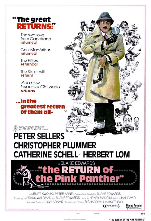 Le Retour de la Panthère rose (Blake Edwards, 1975)