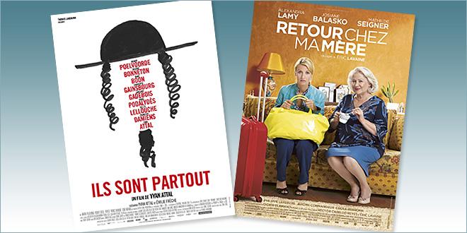 Toutes les sorties Comédie du 1 juin 2016 : Ils sont partout, Retour chez ma mère.