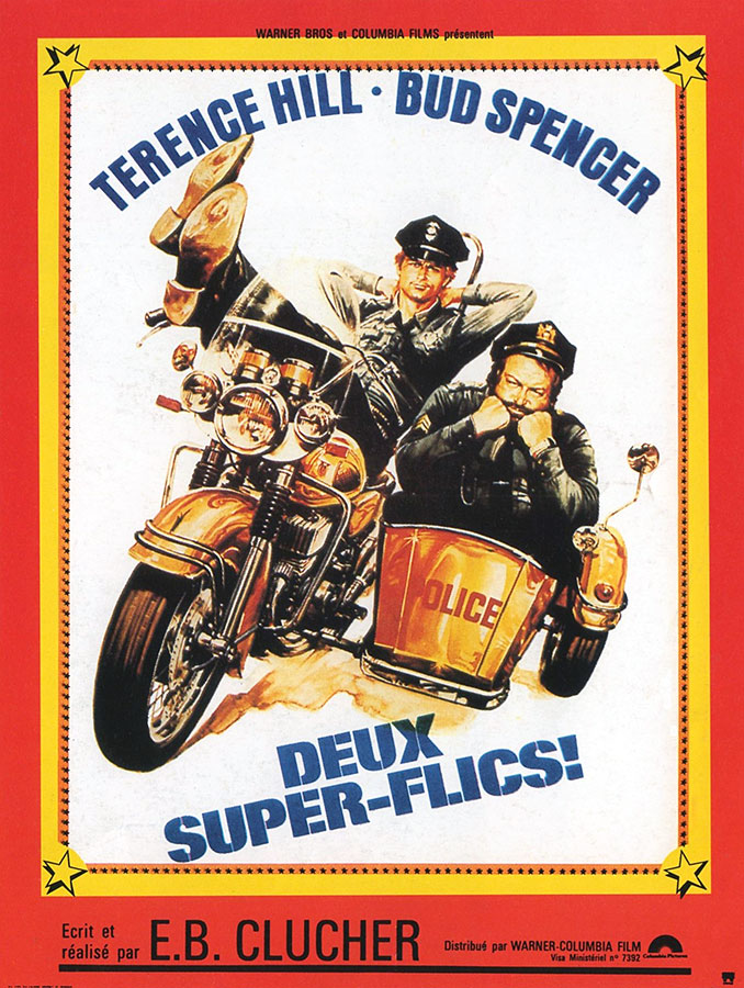 Deux super-flics (E.B. Clucher, 1977)