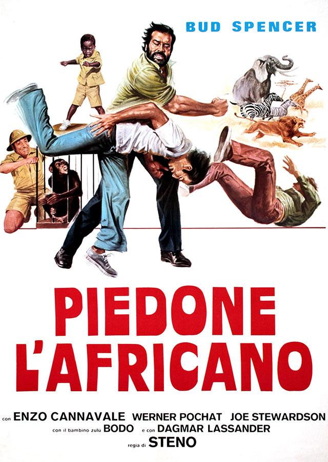 Inspecteur Bulldozer / Piedone l'africano (Steno, 1978)