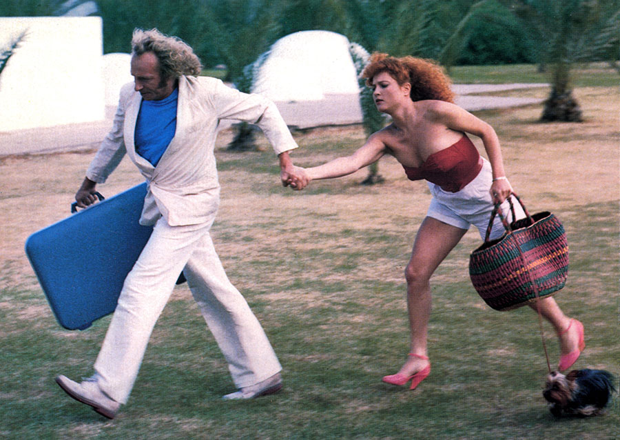 Pierre Richard et Valérie Mairesse dans C'est pas moi, c'est lui (Pierre Richard, 1980)