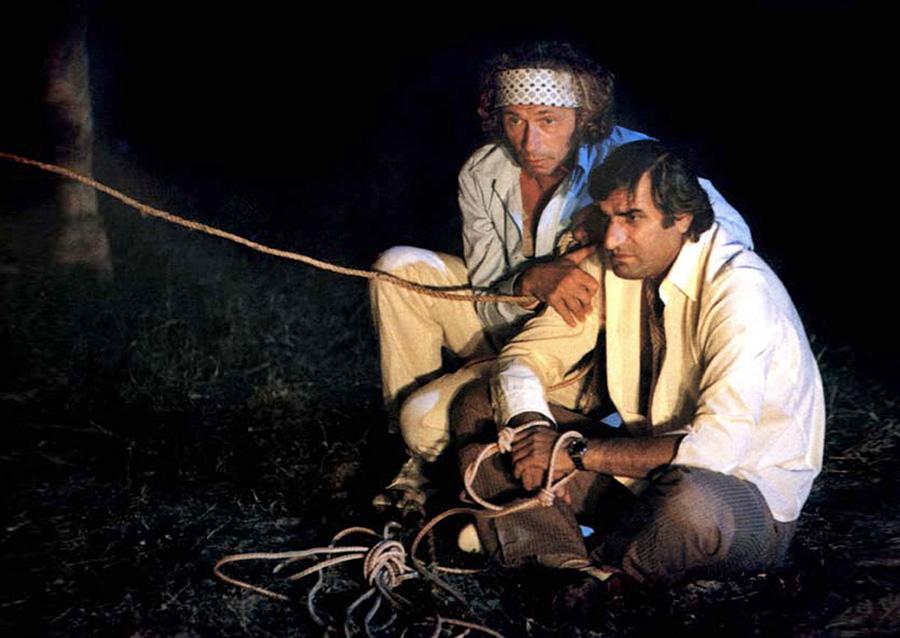 Pierre Richard et Aldo Maccione dans C'est pas moi, c'est lui (Pierre Richard, 1980)