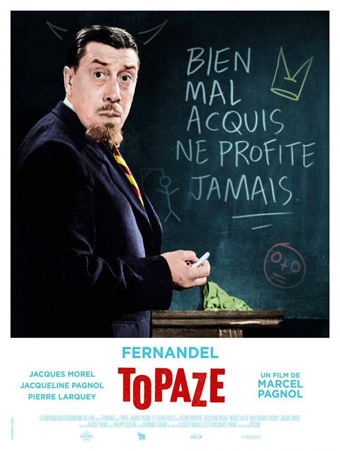 Topaze (Marcel Pagnol, 1951) - version restaurée 2K