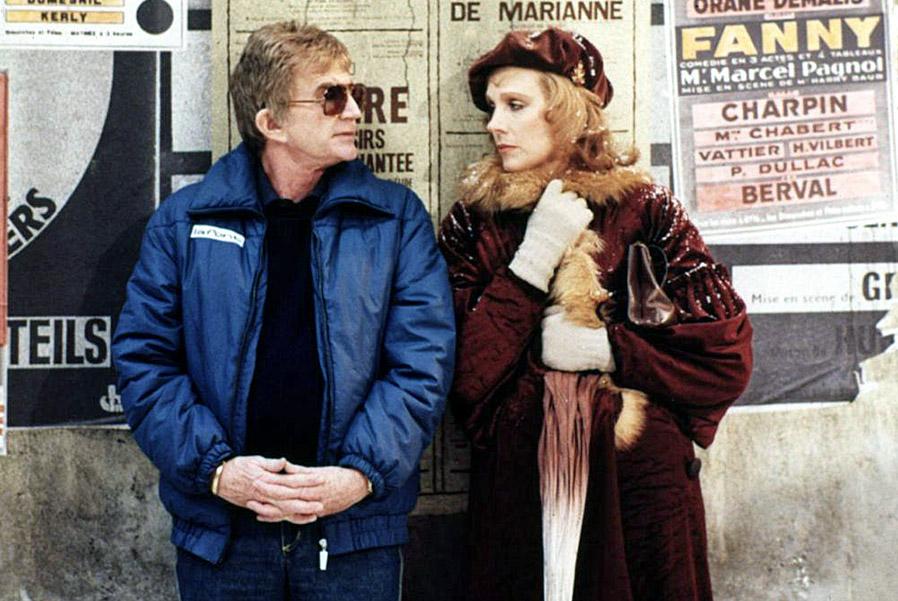 Blake Edwards et Julie Andrews sur le tournage de Victor Victoria (1982)