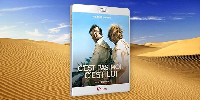 Test Blu-ray - C'est pas moi, c'est lui (Pierre Richard, 1980)