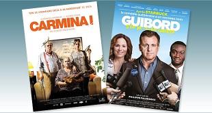 Toutes les sorties Comédie du 27 juillet 2016 : Carmina !, Guibord s'en va-t-en guerre.