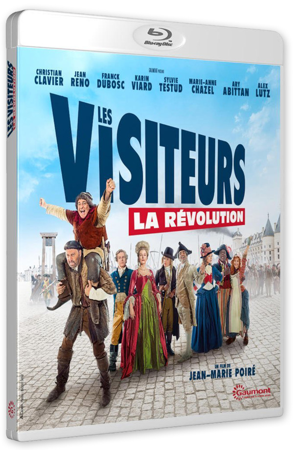 Les Visiteurs - La Révolution (Jean-Marie Poiré, 2016) - Blu-ray