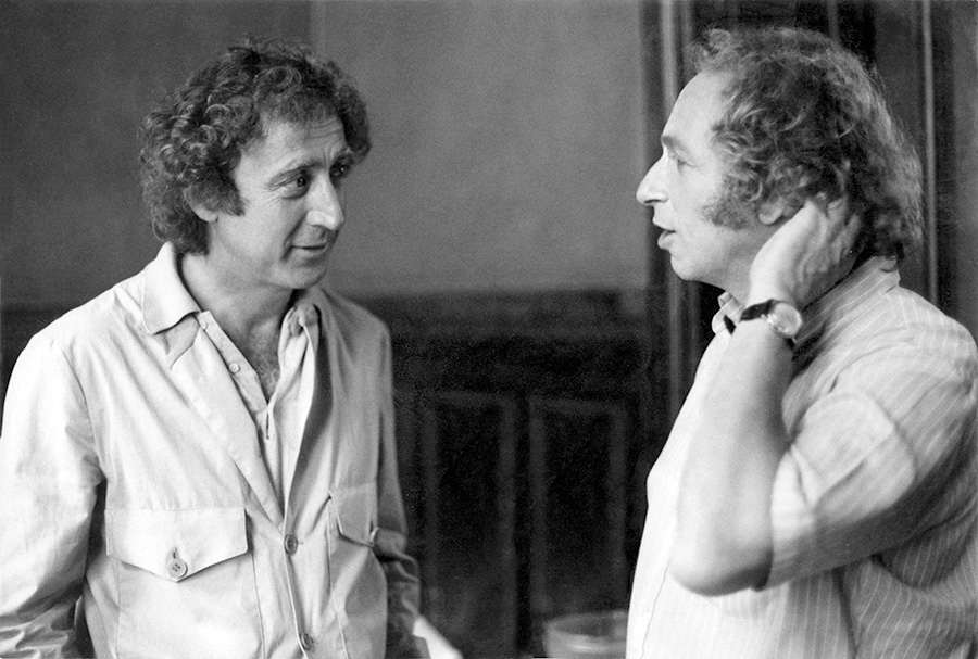 Gene Wilder et Pierre Richard - © photo : collection personnelle Pierre Richard