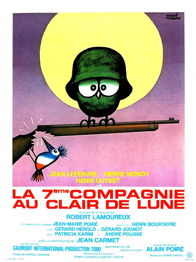 La 7ème compagnie au clair de lune (Robert Lamoureux, 1977)