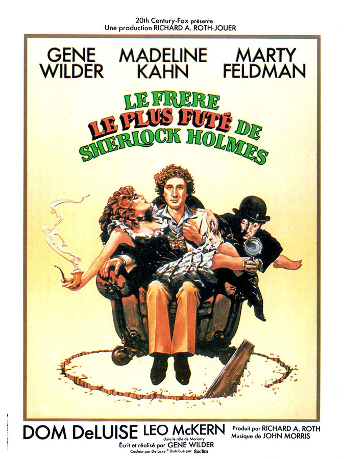 Le frère le plus futé de Sherlock Holmes (The Adventure of Sherlock Holmes' Smarter Brother) de Gene Wilder (1975)