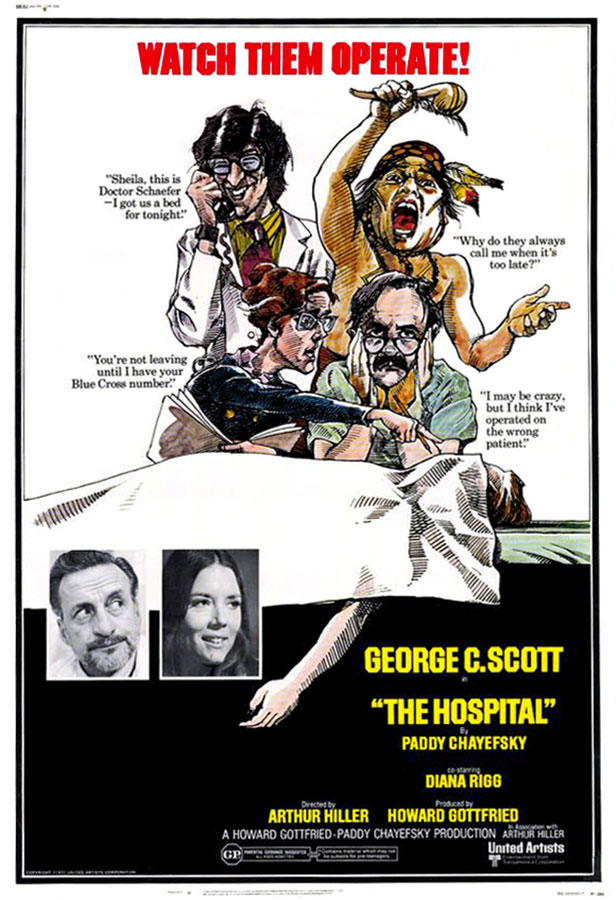 L'Hôpital (The Hospital) Arthur Hiller, 1971
