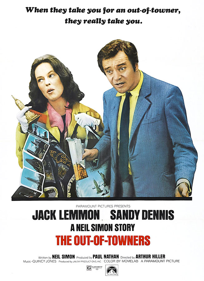 Escapade à New York (The Out of Towners) Arthur Hiller, 1970