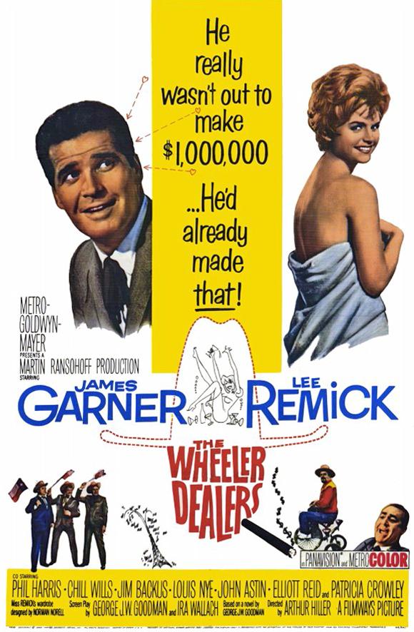 Lits séparés (The Wheeler Dealers) Arthur Hiller, 1963