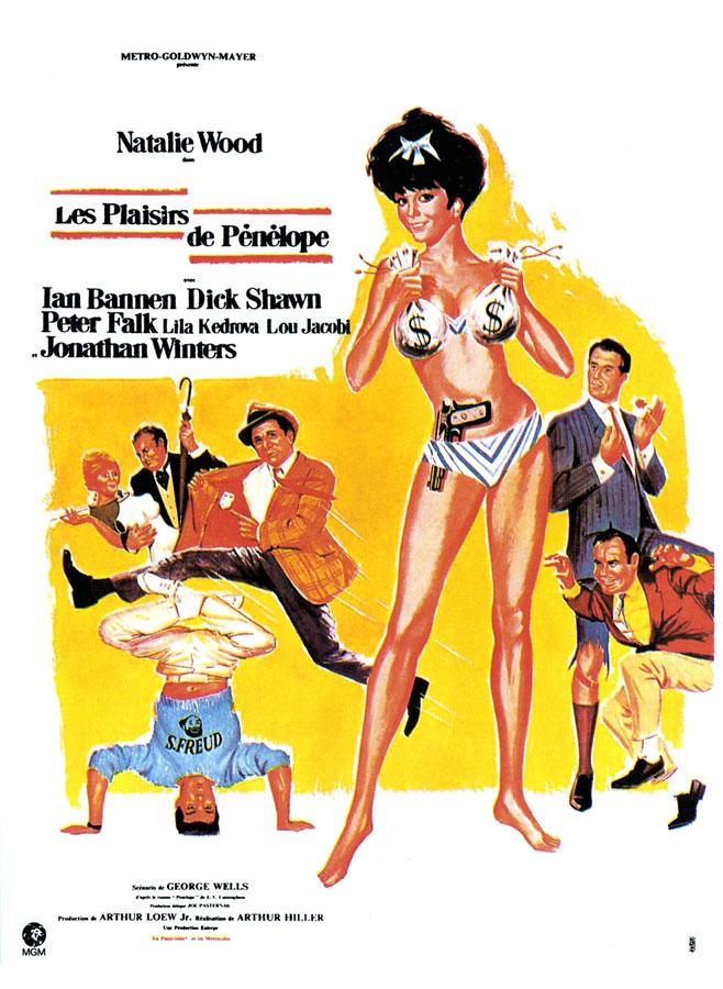 Les Plaisirs de Pénélope (Penelope) Arthur Hiller, 1966