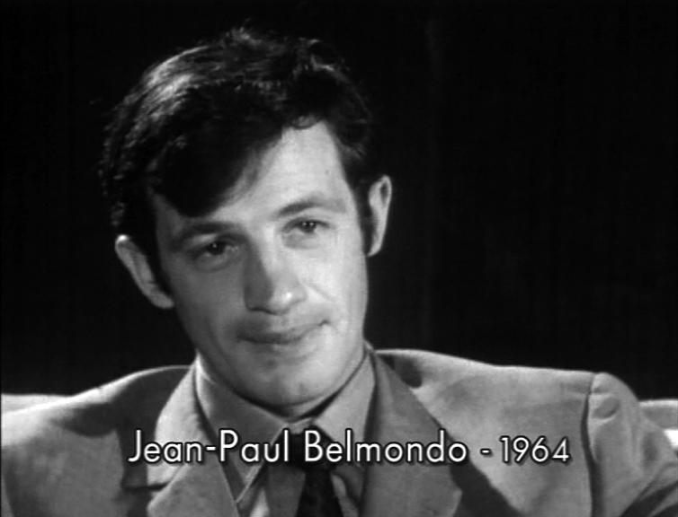 Jean-Paul Belmondo en 1964 - Bonus DVD Peau de banane (Marcel Ophüls, 1963)