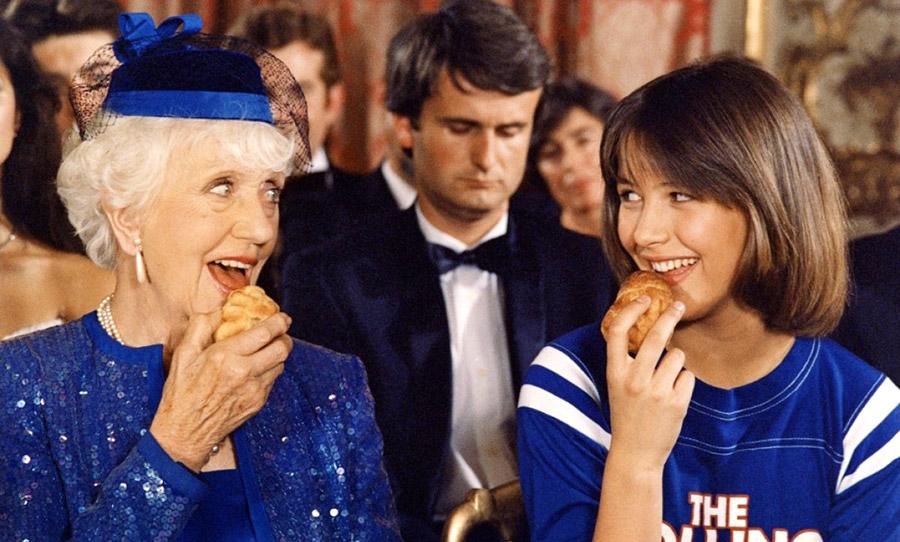 Denise Grey et Sophie Marceau dans La Boum 2 (Claude Pinoteau, 1982)