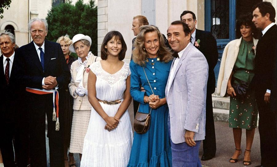 Sophie Marceau, Brigitte Fossey et Claude Brasseur dans La Boum 2 (Claude Pinoteau, 1982)