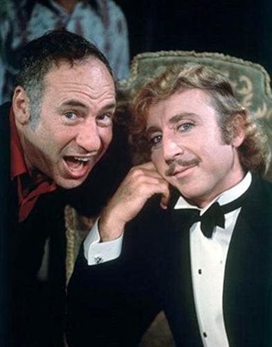 Mel Brooks et Gene Wilder