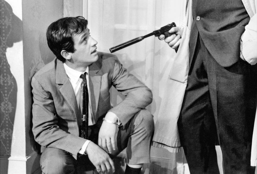 Jean-Paul Belmondo dans Peau de banane (Marcel Ophüls, 1963)