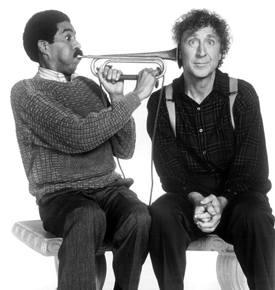 Richard Pryor et Gene Wilder en 1989 dans Pas nous ! Pas nous ! (See No Evil, Hear No Evil)