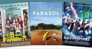 Toutes les sorties Comédie du 10 août 2016 : C'est quoi cette famille?!, Parasol, S.O.S. Fantômes.