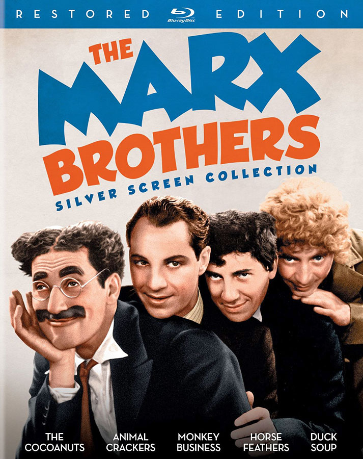 The Marx Brothers Silver Screen Collection – Restored Edition / Recto