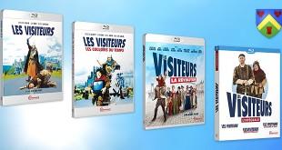 Trilogie Les Visiteurs - Test Blu-ray