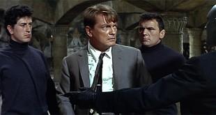 Yvan Chiffre, Jean Marais, Jean Minisini et Christian Toma dans Fantômas (André Hunebelle, 1964)