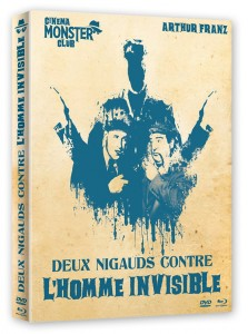 Deux nigauds et l'homme invisible (Charles Lamont, 1951) - DVD/Blu-ray