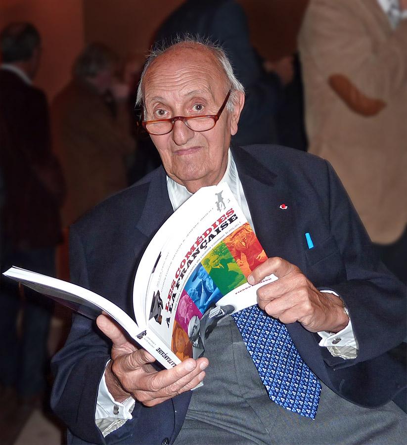 Pierre Tchernia en 2011 - © Jérémie Imbert