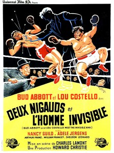 Deux nigauds et l'homme invisible (Bud Abbott and Lou Costello meet the Invisible Man, 1951) de Charles Lamont