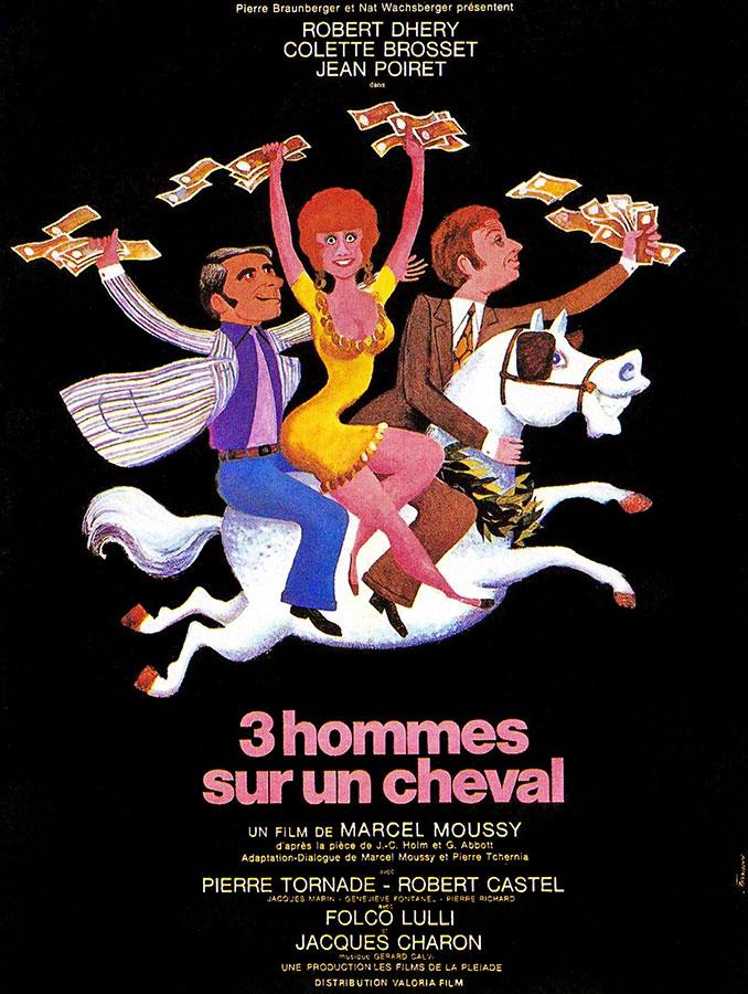 Trois hommes sur un cheval (Marcel Moussy, 1969)