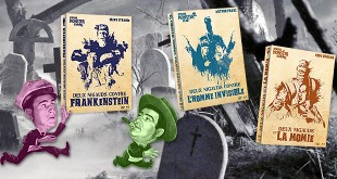 Abbott et Costello face aux monstres Universal - Test Blu-ray