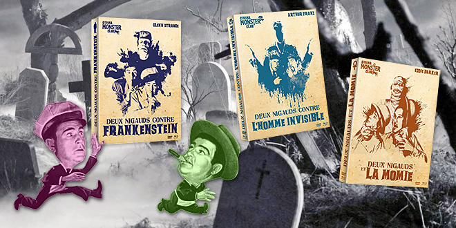 Abbott et Costello face aux monstres Universal - Test Blu-ray